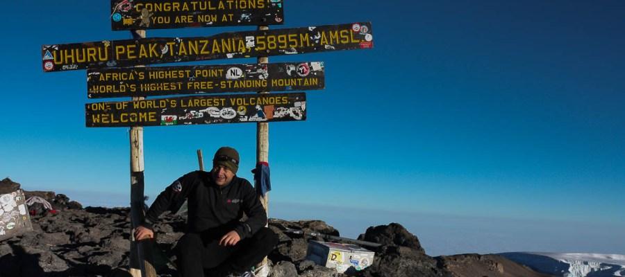 Kilimandżaro - najwyższa góra w Tanzanii