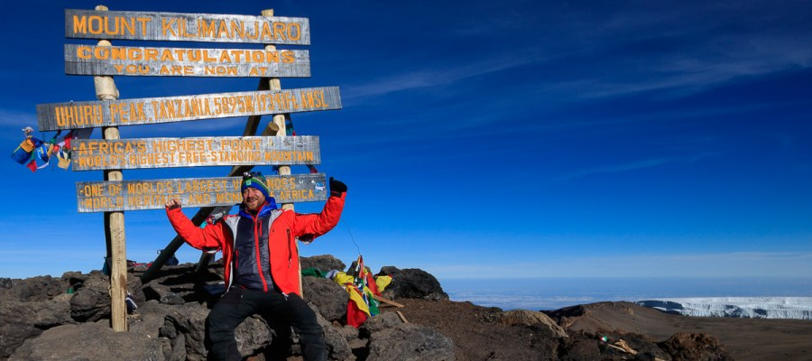 Szczyty Afryki - Kilimandżaro