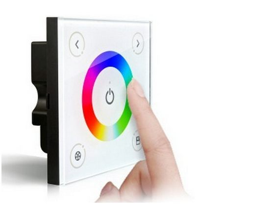 Wall Mounted RGB, Single Zone Controller (Touch Screen
