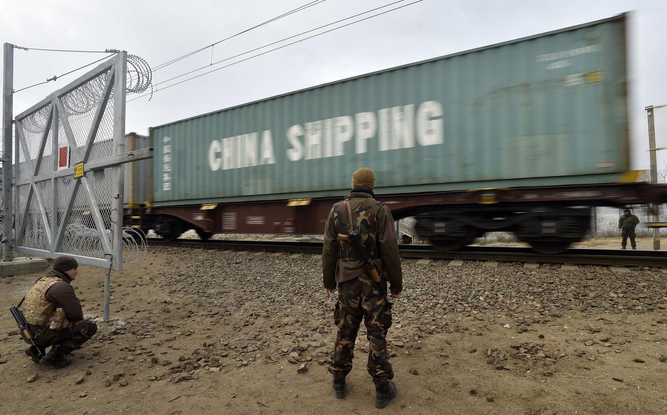 kína konténer vonat