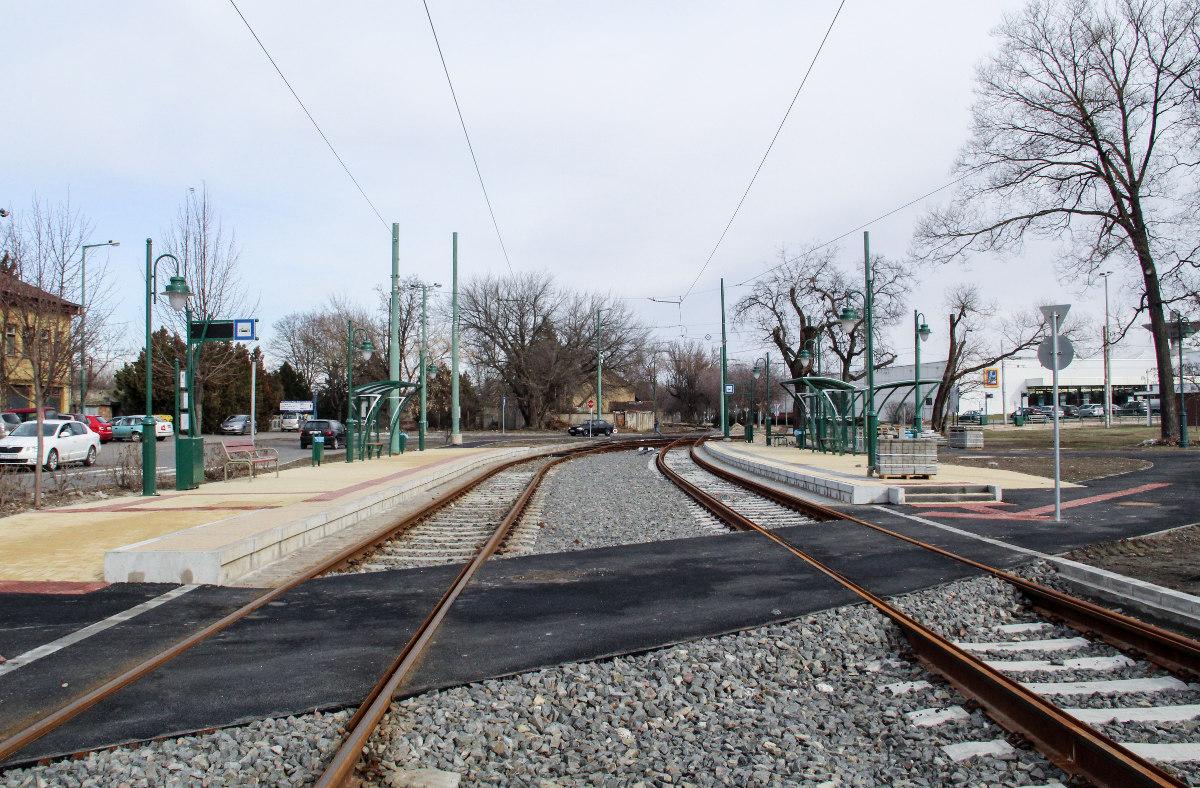 tram-train vasút megálló rókus