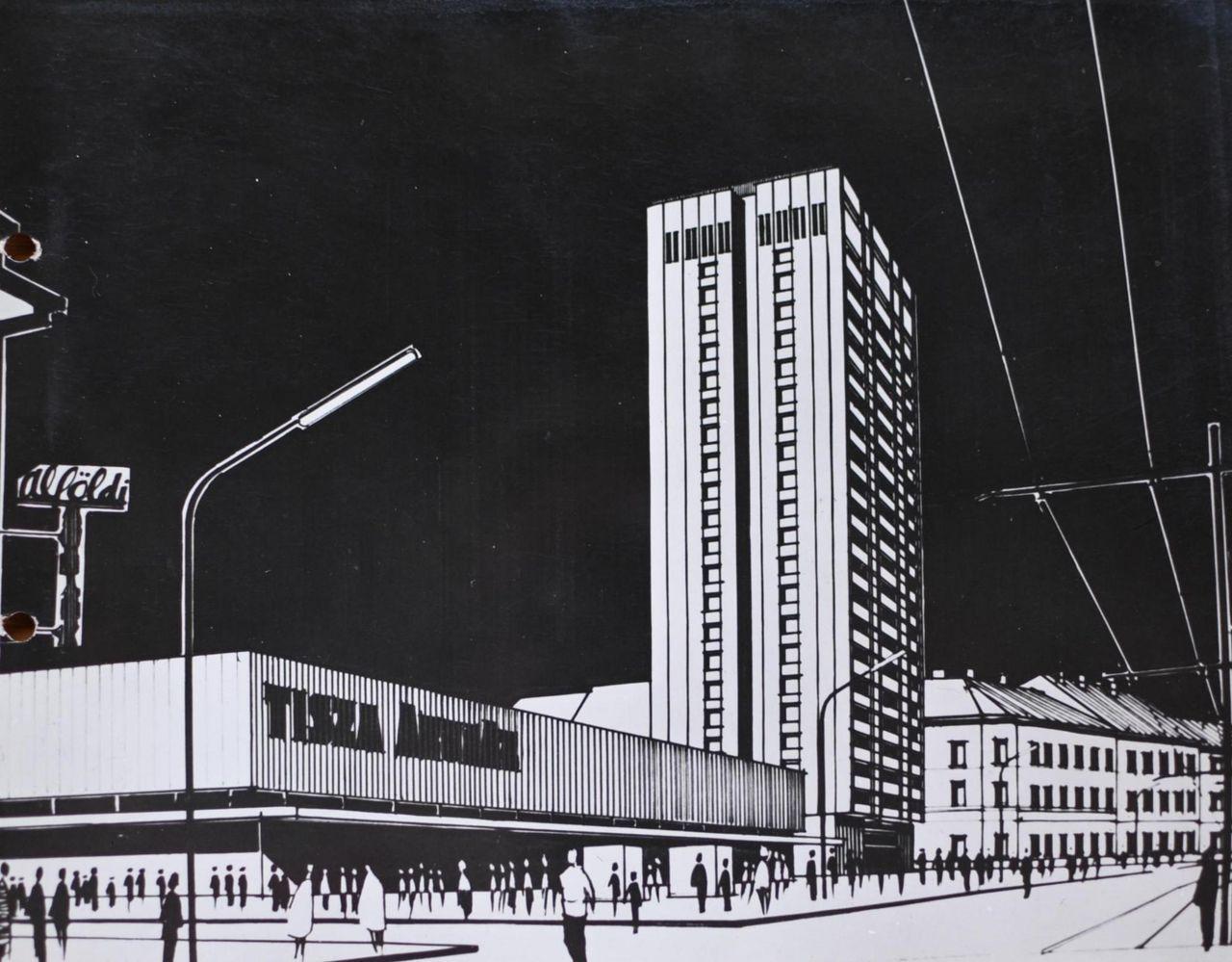 Egyszer terveztek Szegedre egy 22 emeletes toronyházat