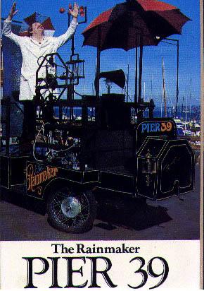 szeles comedy hypnotist postcard pier 39 rainmaker