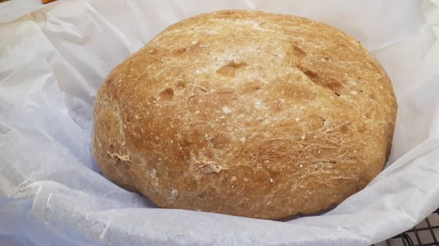Dia Wellness lisztből készült szénhidrátcsökkentett kenyér házilag, dagasztás nélkül