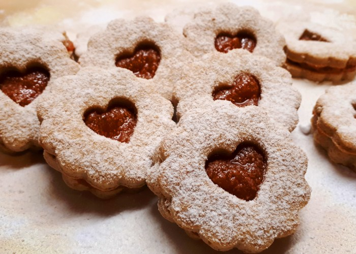 Dia Wellness linzer recept