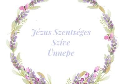 JÉZUS SZÍVE ÜNNEPE