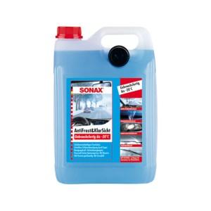 Sonax Téli szélvédőmosó folyadék 5 liter (-20), téli ablakmosó, autóápolási termékek