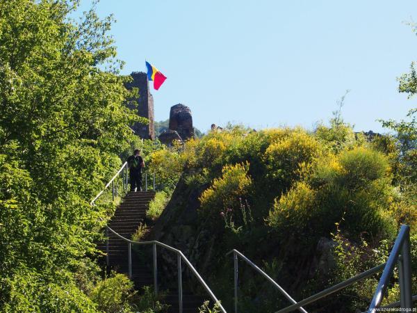 Cetatea Poienari zamki Drakuli