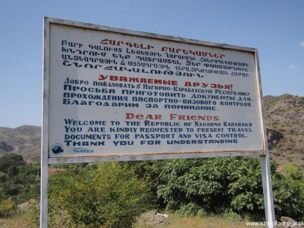Górski Karabach wiza