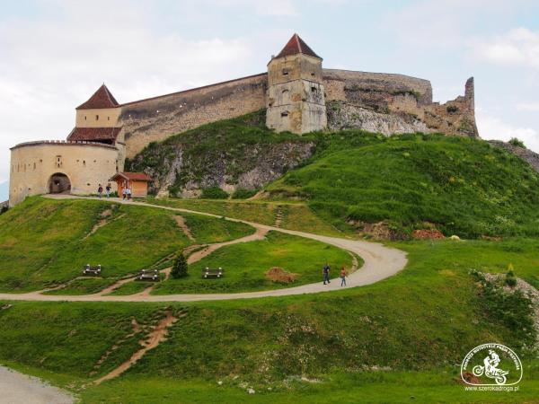 Zamek Rasnov, zamki w Rumunii