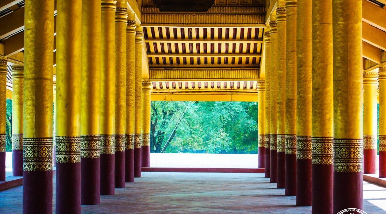 pałac królewski w Mandalay