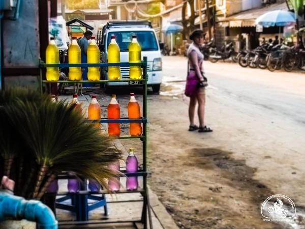 transport w Birmie - paliwo