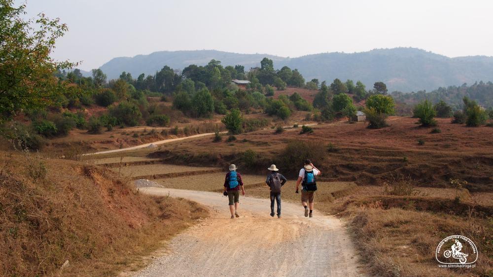 podrózowanie po Birmie - trekking Kalaw