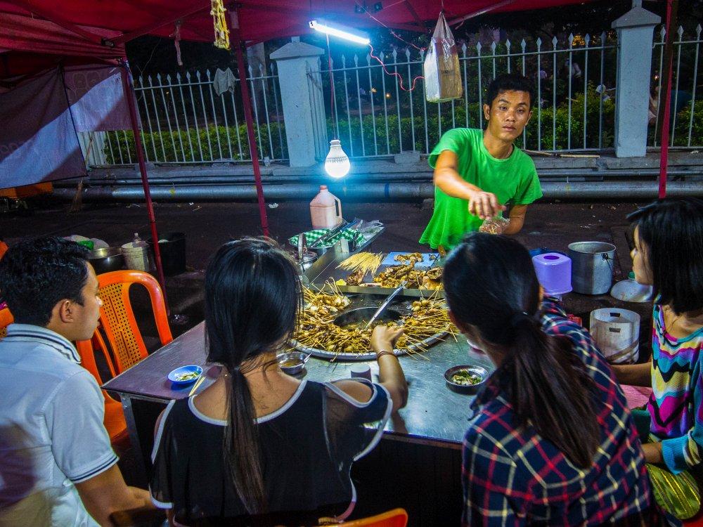 jedzenie w Birmie, gdzie jeść w Birmie
