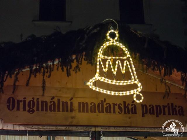 Jarmark świąteczny w Ołomuńcu