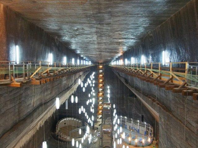 Salina Turda – kopalnia soli w Rumunii