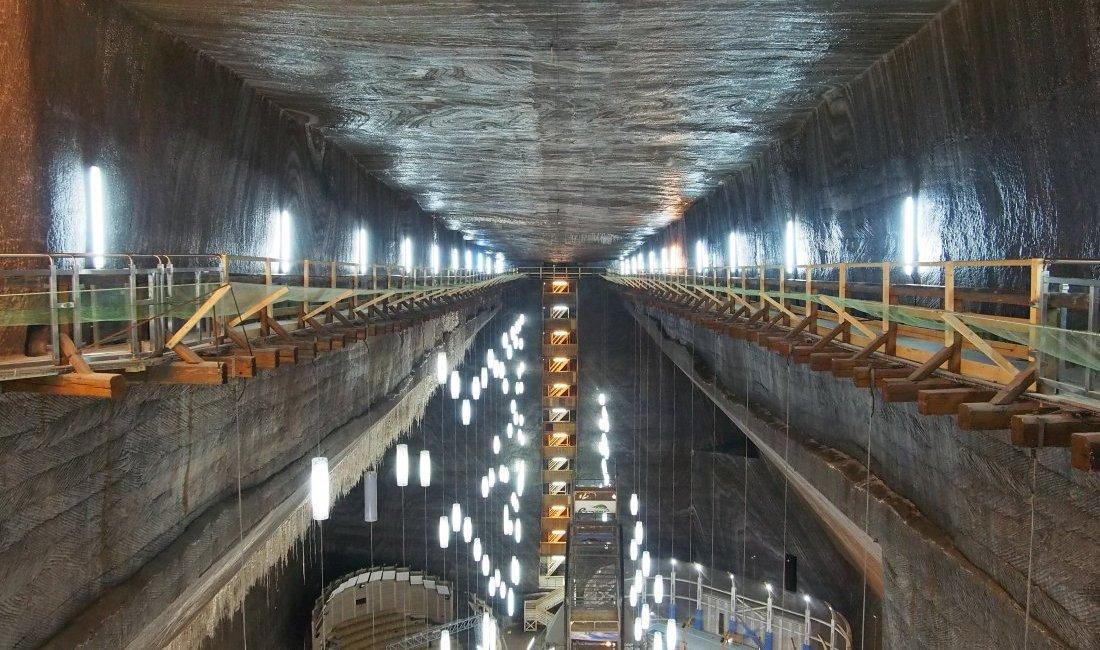Salina Turda kopalnia soli w Rumunii