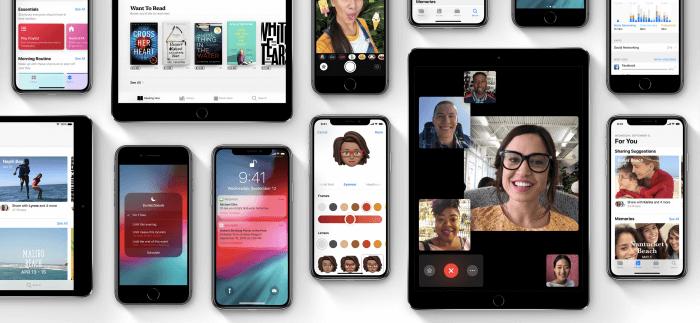 iOS 12 szuloi felugyelet