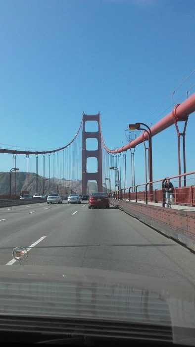 Golden Gate by foot