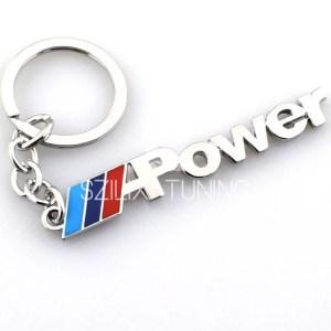 BMW M power kulcstartó