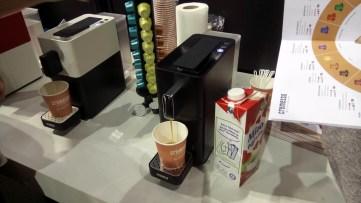 A svájci székhelyű Cremesso kávégépei