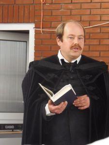 Ferencz József igét hirdet