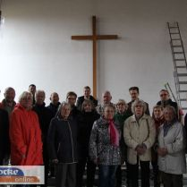 A búcsúzó gyülekezet