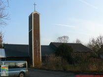 A templom kivülről bontás előtt