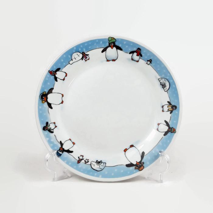 pingvines tányér