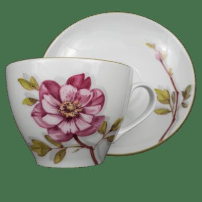 vadrózsa teás készlet