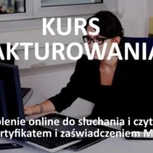 fakturowanie - szkolenie online