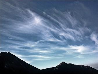 Cirrus na niebie, pogoda się ... bie! ;-)