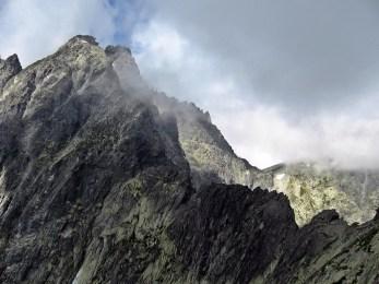 Rumanowa Przełęcz, Wysoka i Przełęcz Waga z drugiego stanowiska