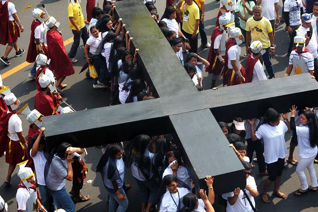 PHILIPPINES-PROTEST-RELIGION