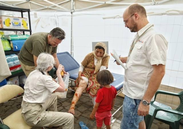 Menekültek orvosi ellátása a Nyugati tranzitzónában