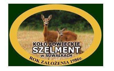 """Podziękowanie – Koło Łowieckie """"Szelment"""" w Suwałkach."""