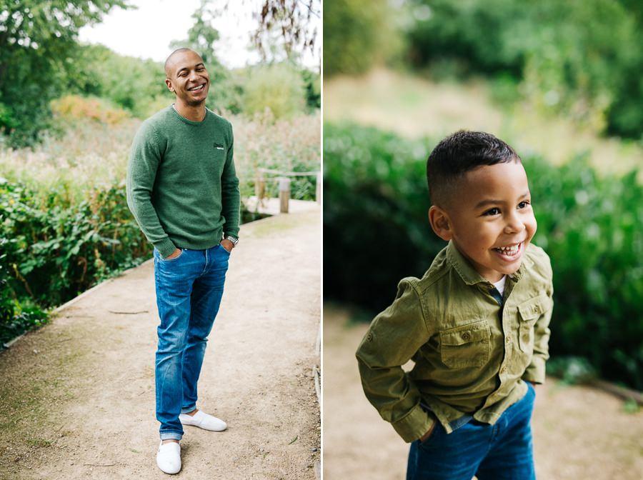 zdjęcie ojciec z synem