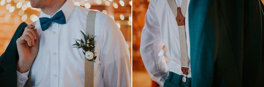 mucha i butonierka na ślub