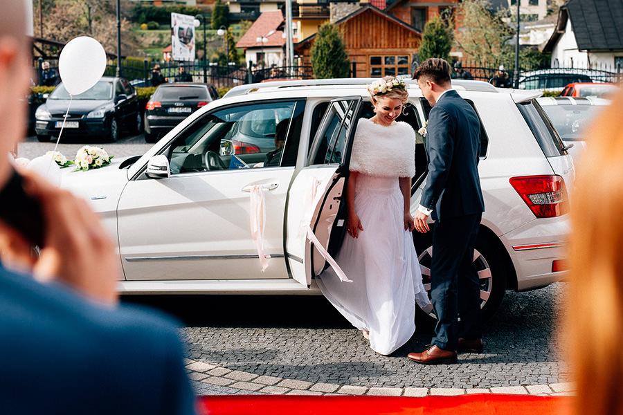 jaki samochód na ślub?