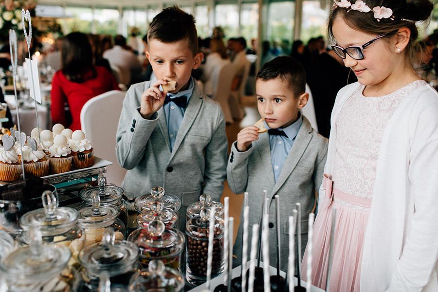 słodki kącik na weselu szczyrk