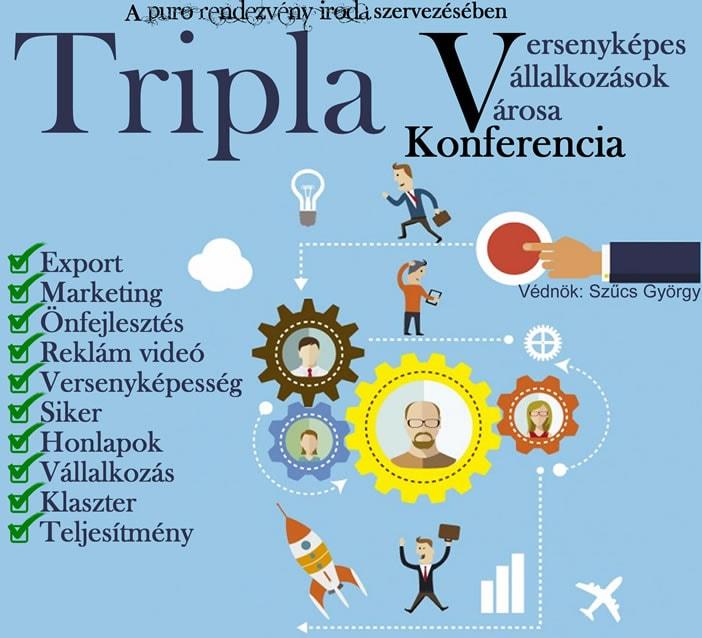 Ingyenes gazdasági konferencia Szentesen: Tripla V Konferencia