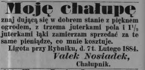 Valek 1884