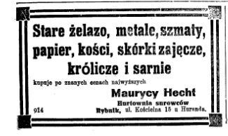 Maurycy Hecht 12.1922 SztPl