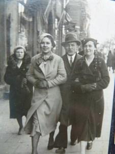 Babcia w Toruniu przed wojna