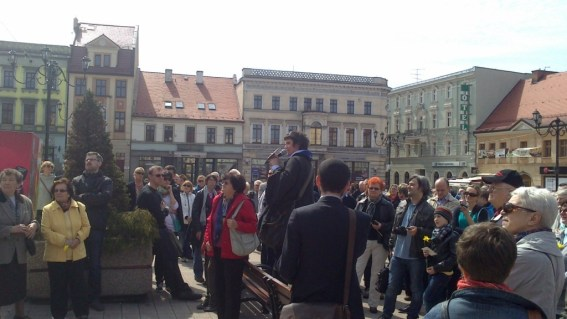 Walking tour Rybnik Jews April 2013
