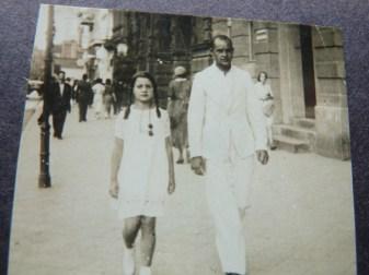 dziadek Pawel ze swoja siostrzenica Lula