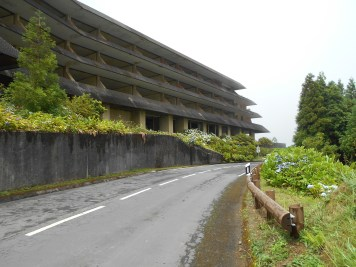 opuszczony hotel