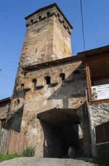typowa swanska wieża obronna