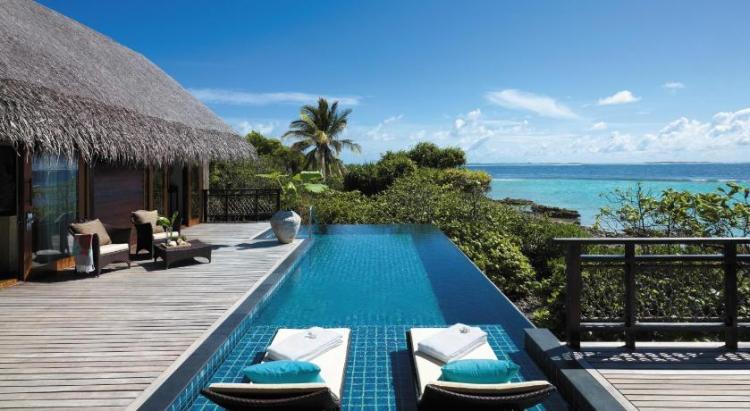 Лучшие отели 5 звезд на Мальдивах - Shangri-La's Villingili Resort and Spa