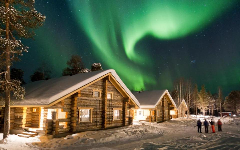 Image result for Nellim Wilderness Hotel finland 芬蘭